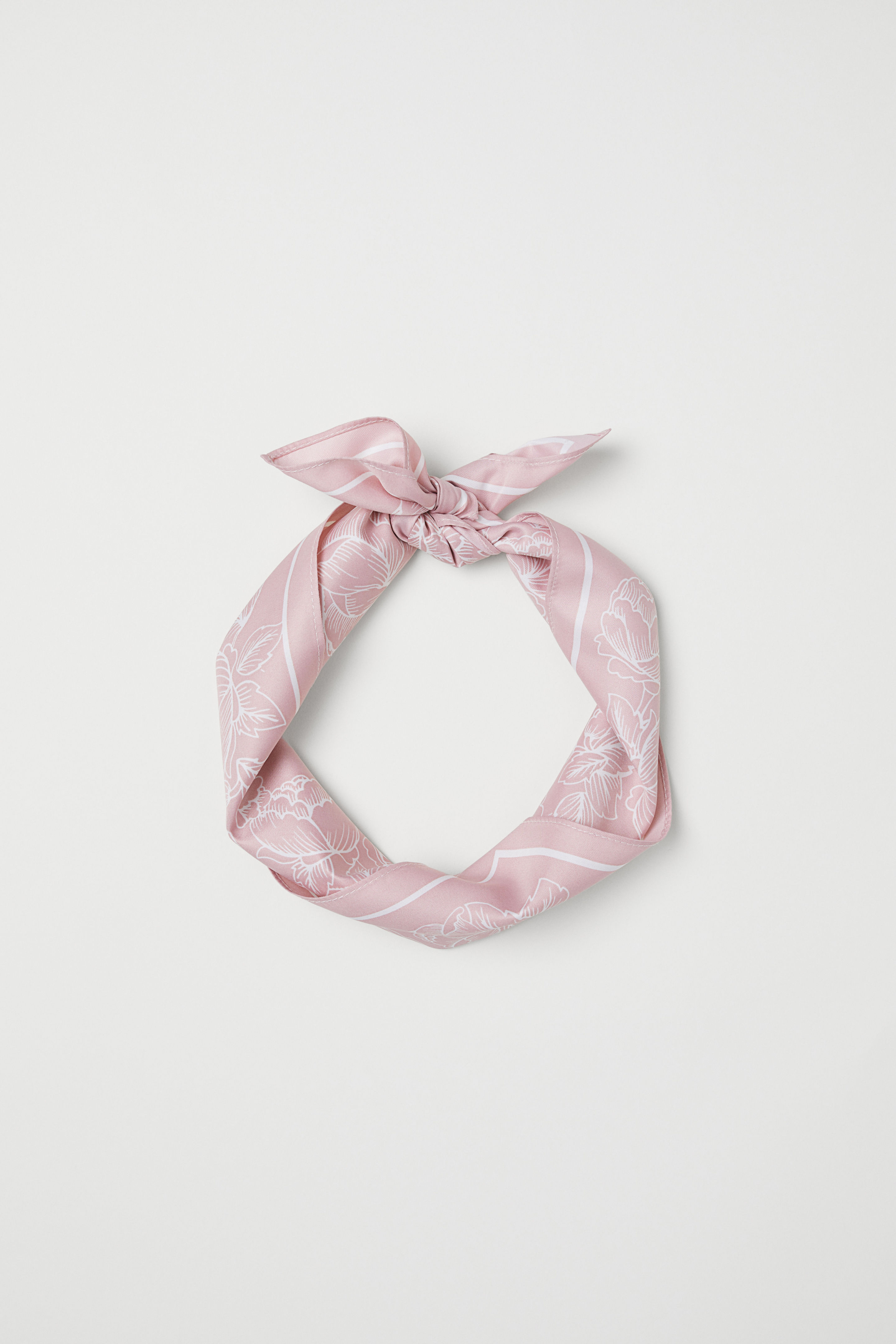 Scarf/Hairband - Powder Pink