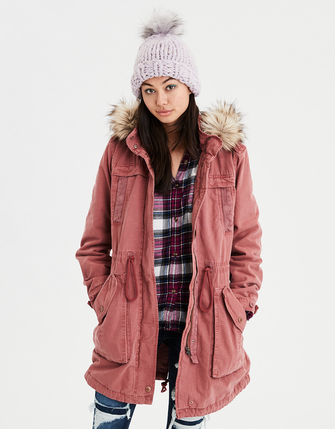 AE Classic Parka - Pink