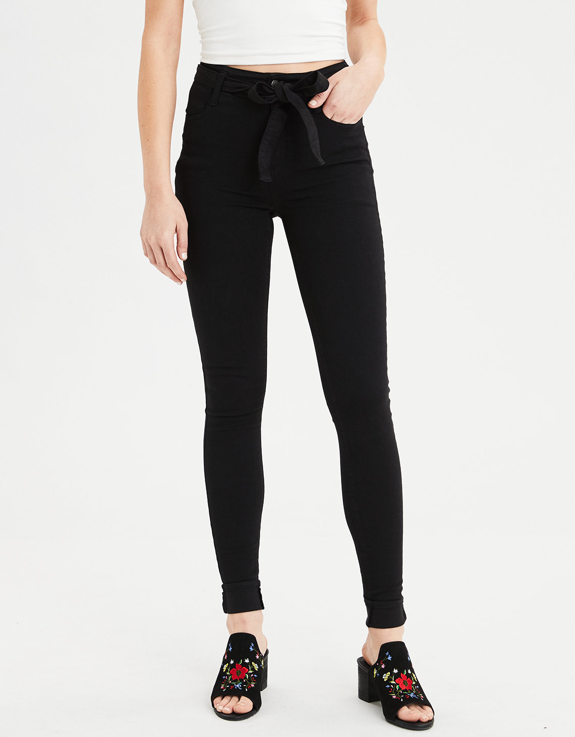 Highest Waist Jegging - Onyx Black