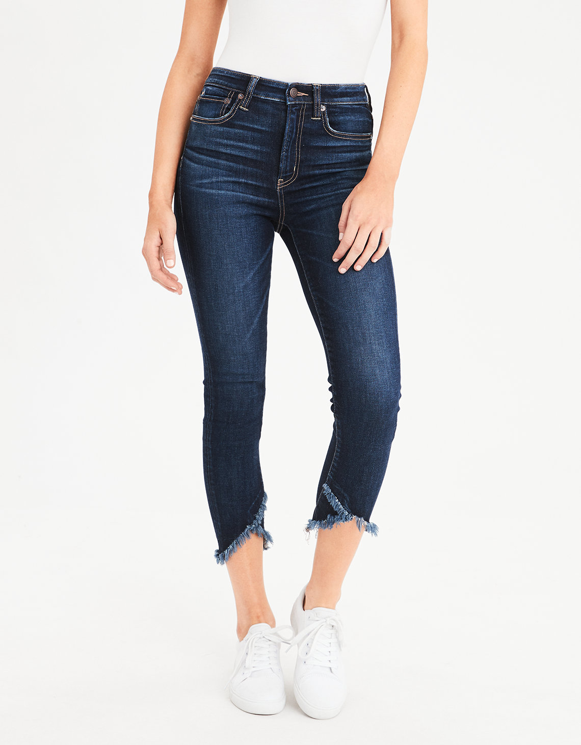 AE Ne(X)T Level Super High-Waisted Jegging Crop - Deep Waters
