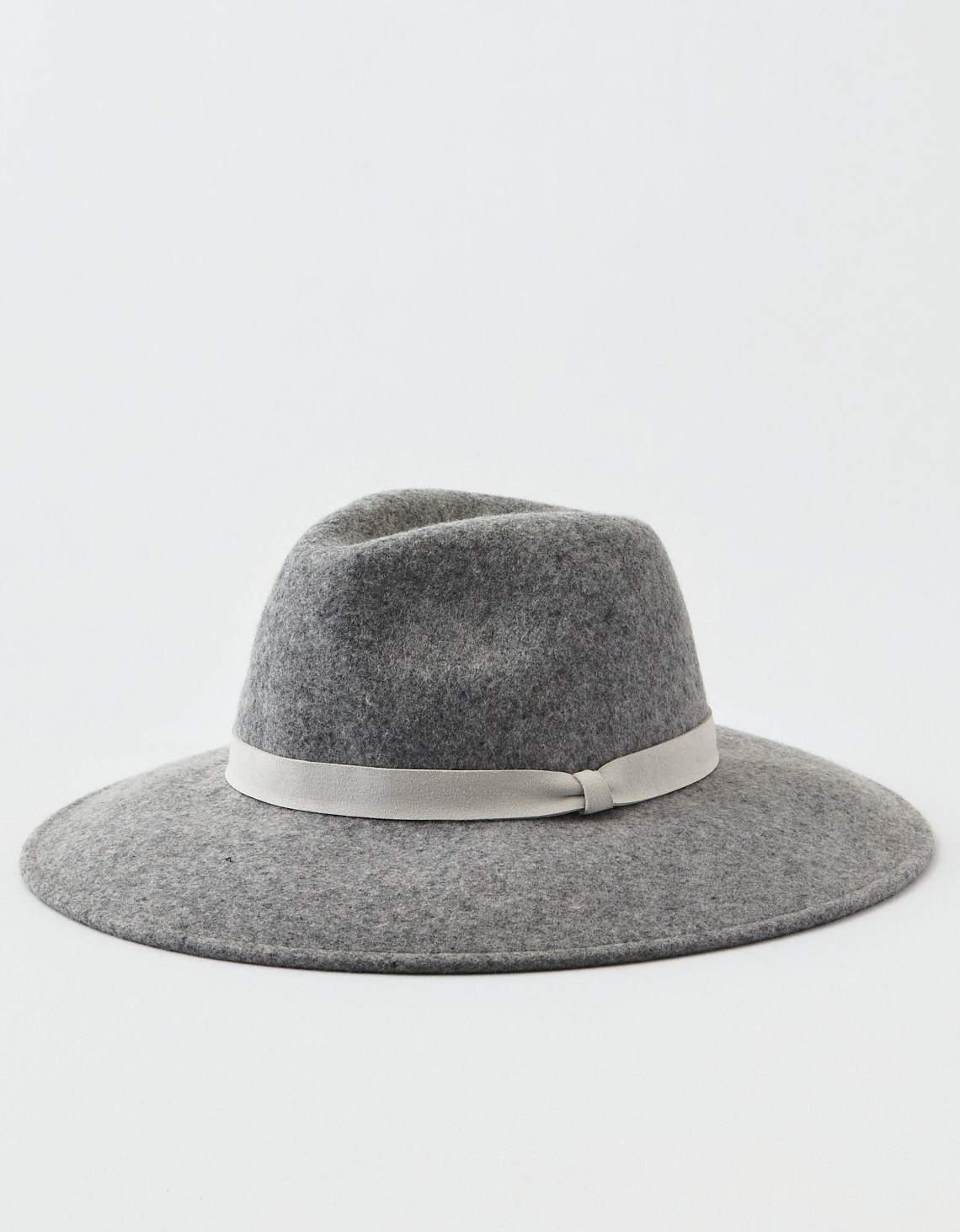 AEO Wide Brim Western Hat - Gray